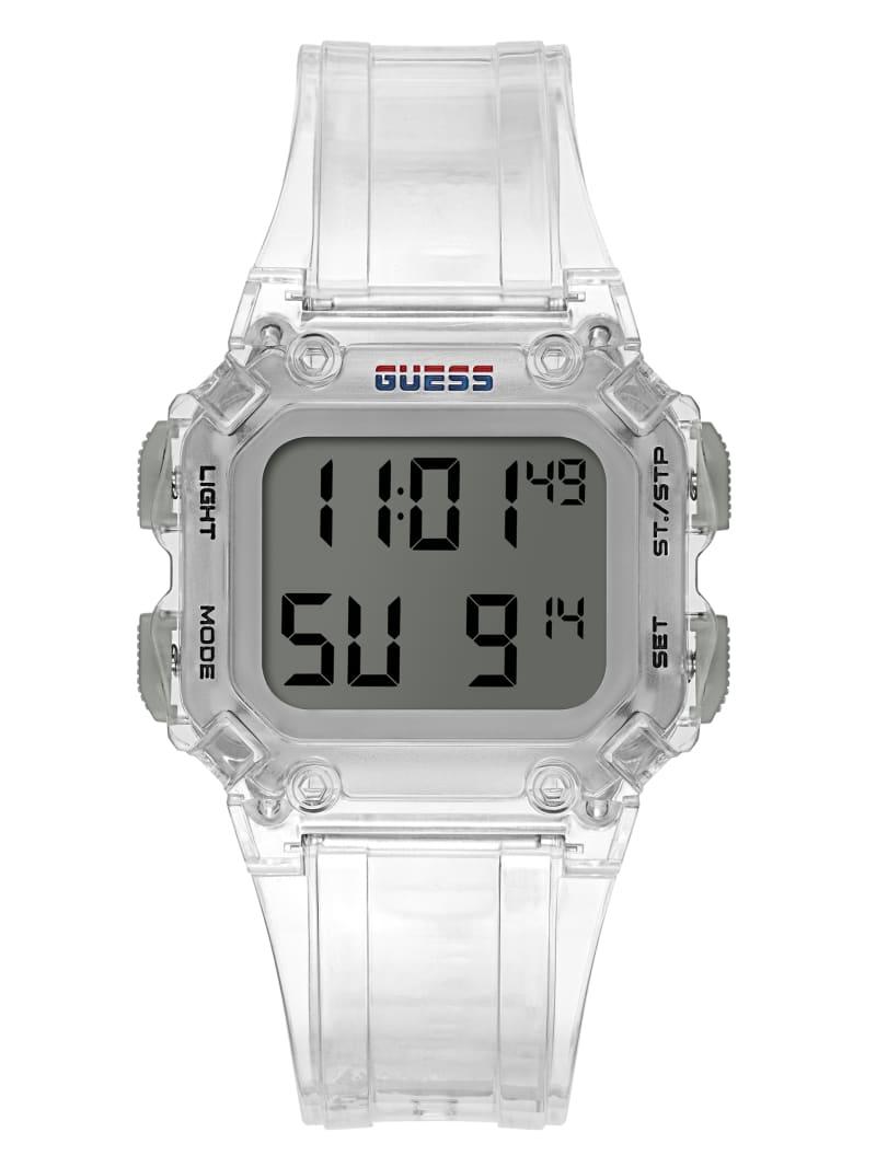 Stealth Clear Digital Watch