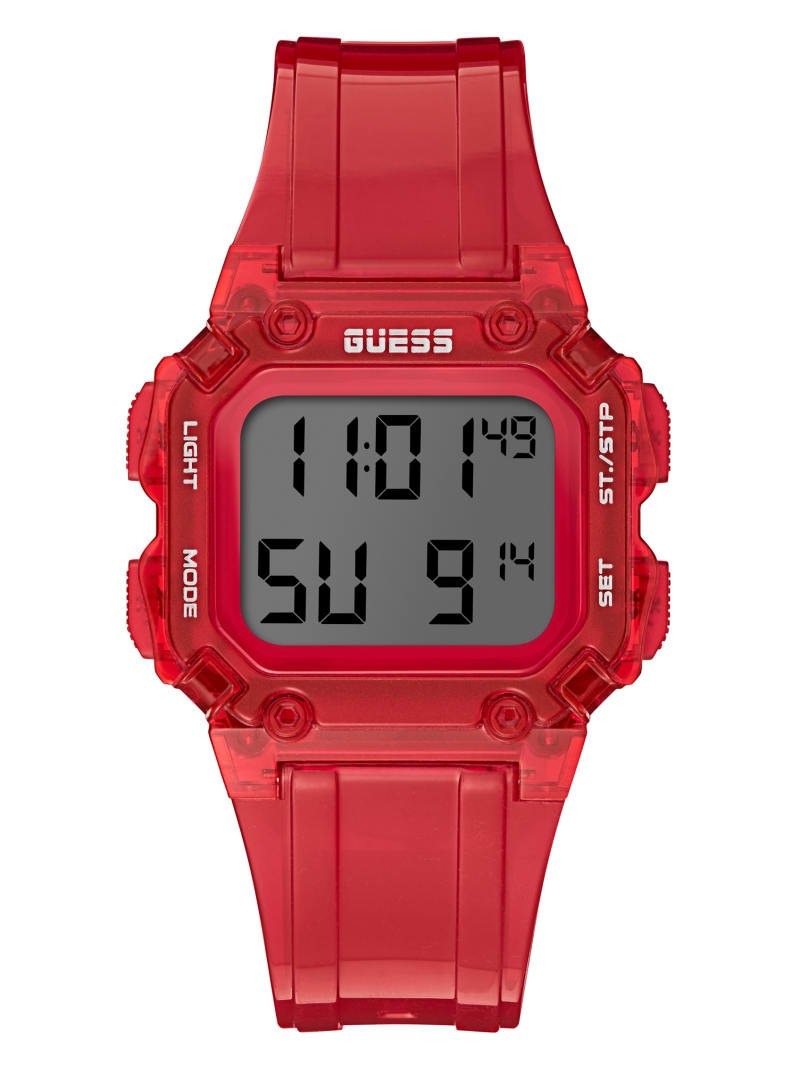 Stealth Red Digital Watch