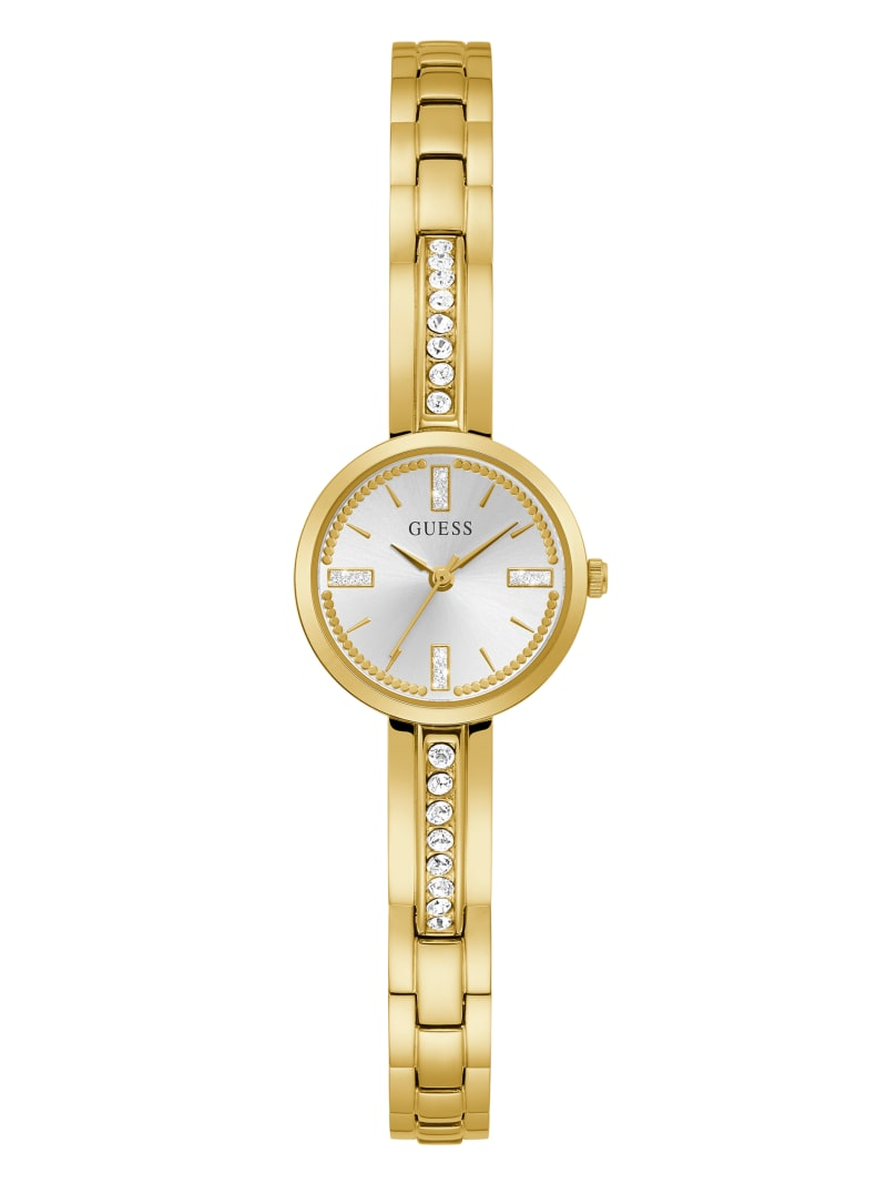 Sofia Gold-Tone Crystal Analog Watch