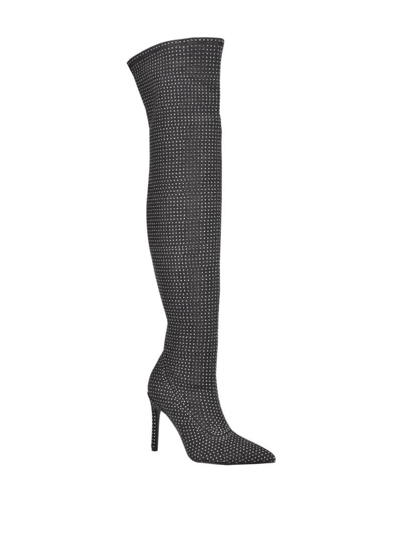 Boniss Rhinestone Over-the-Knee Boots