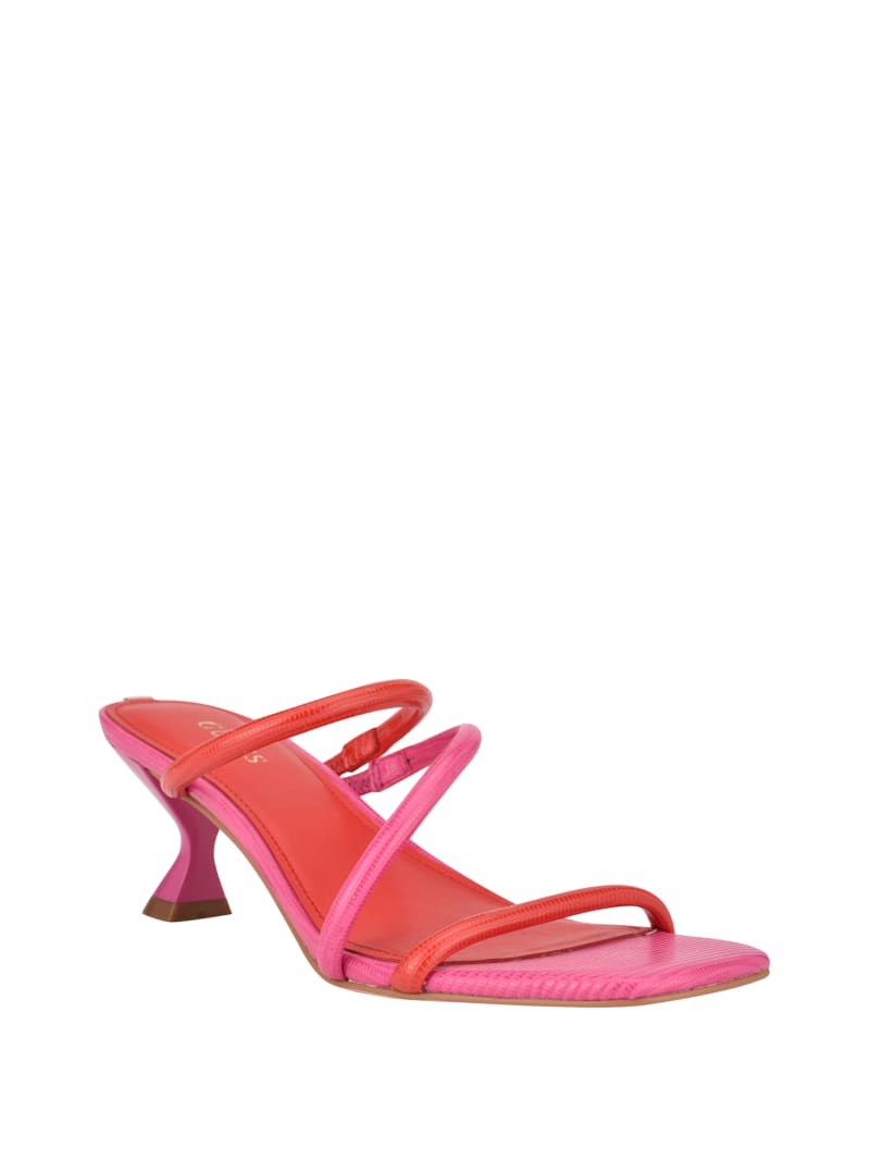 Brennda Strappy Heeled Sandals