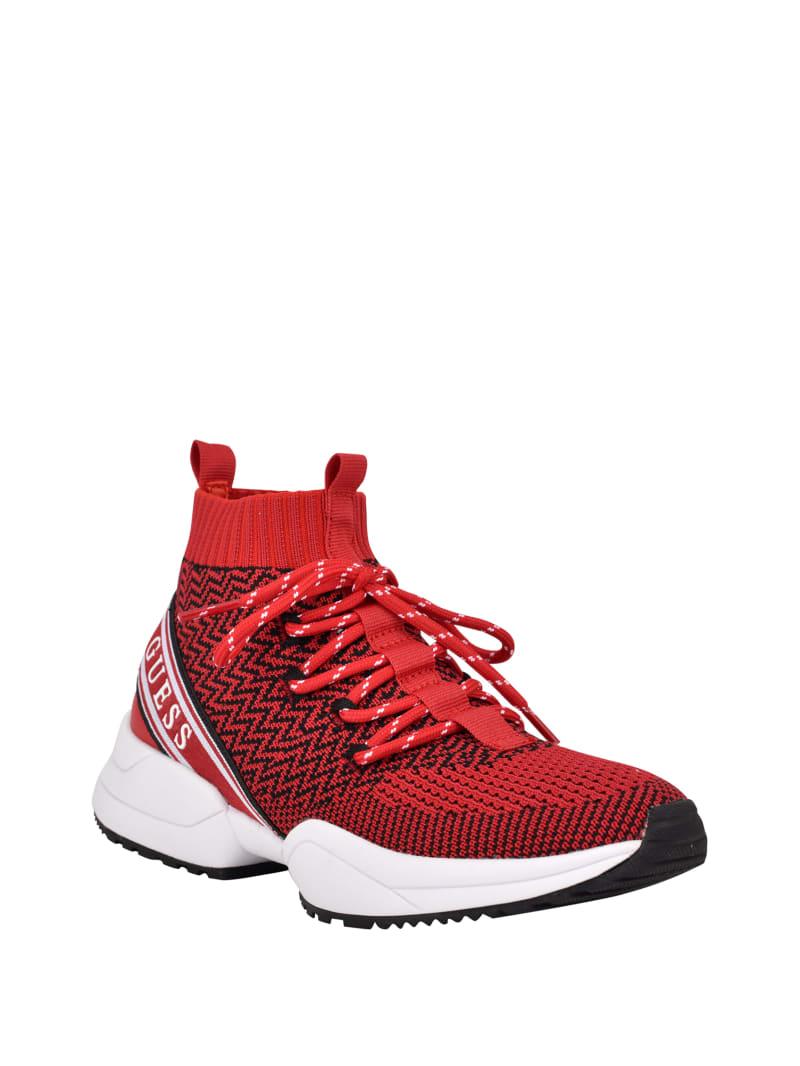 Brite Knit High-Top Sneakers