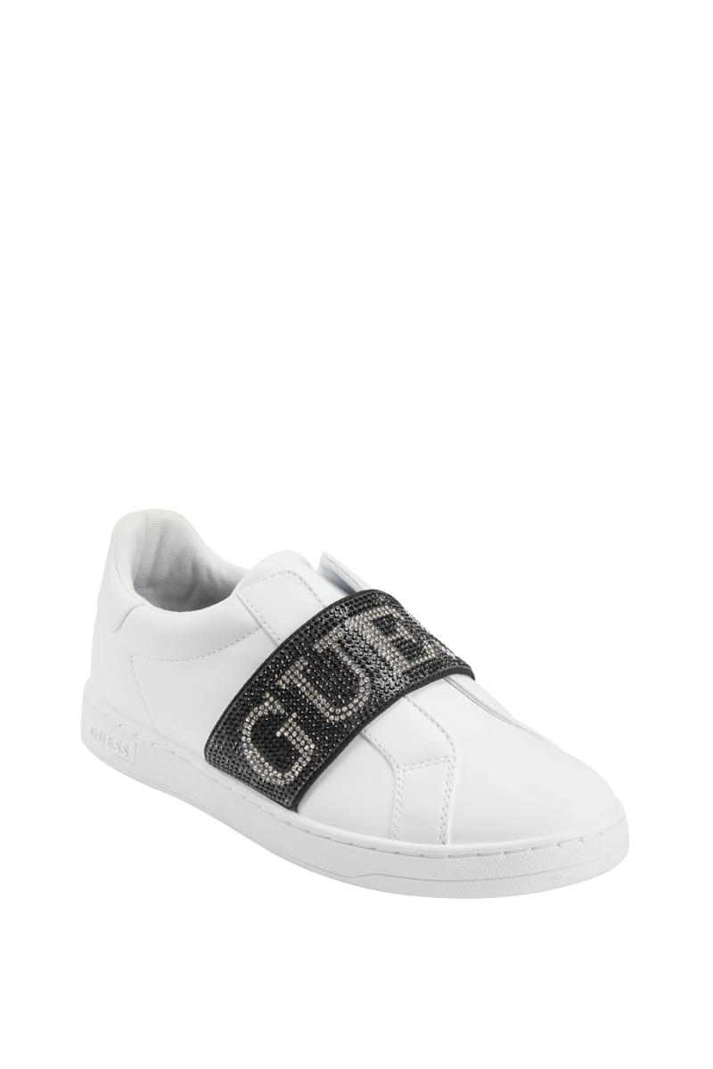 Crystal Logo Fashion Sneakers