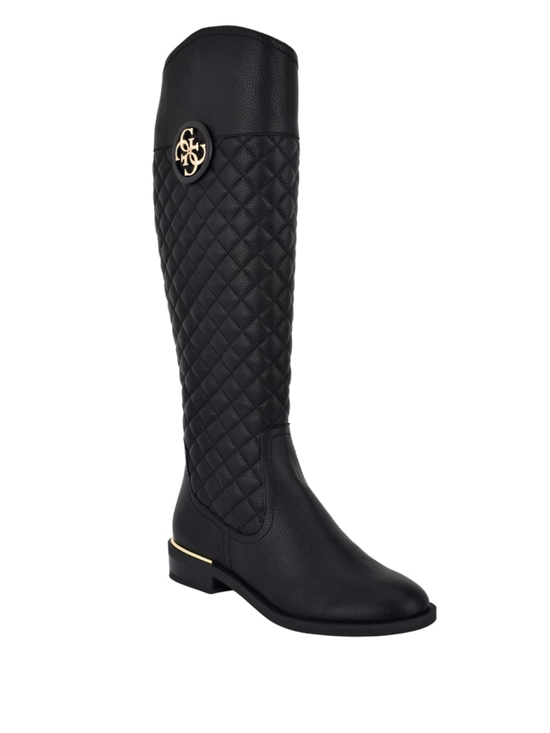 Dabrela Quilted Riding Boots