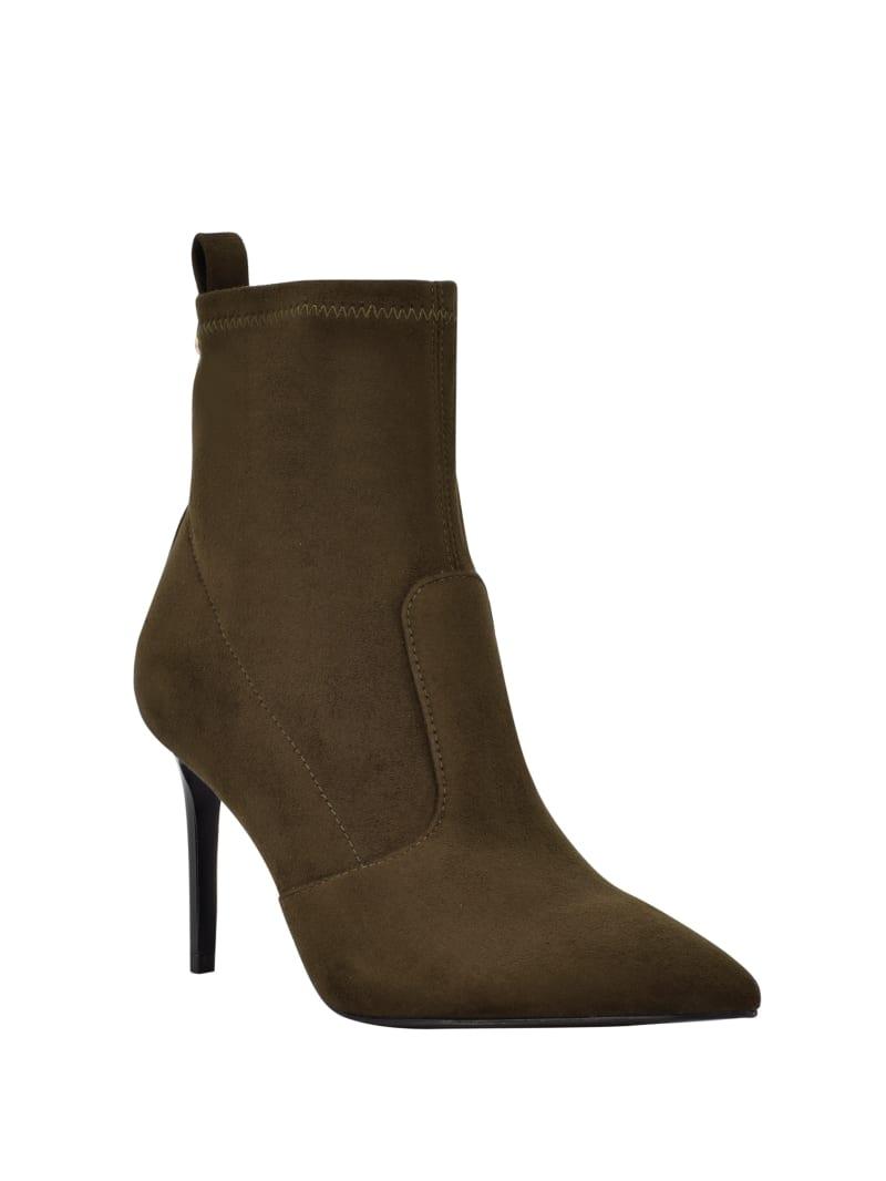 Dafina Faux-Suede Sock Booties