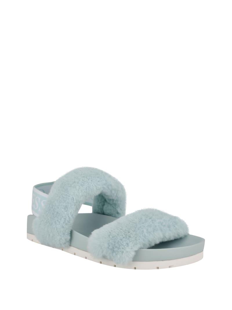 Fabin Faux-Fur Sandal