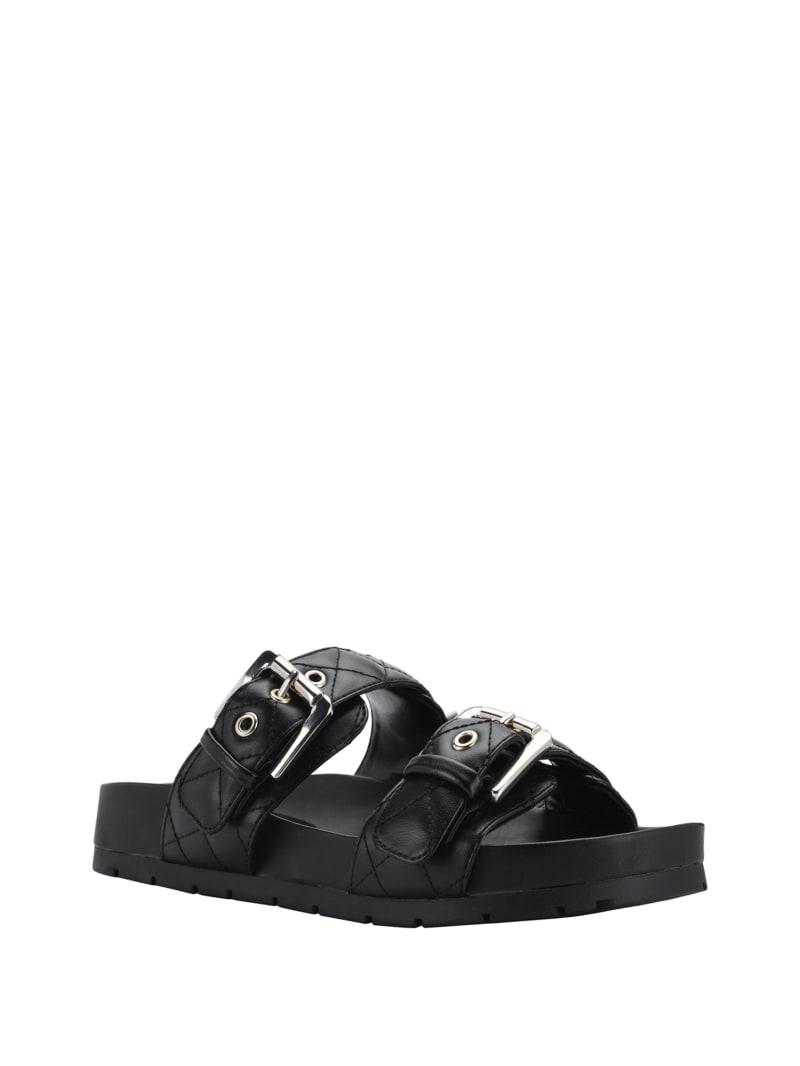 Felda Quilted Buckle Sandals