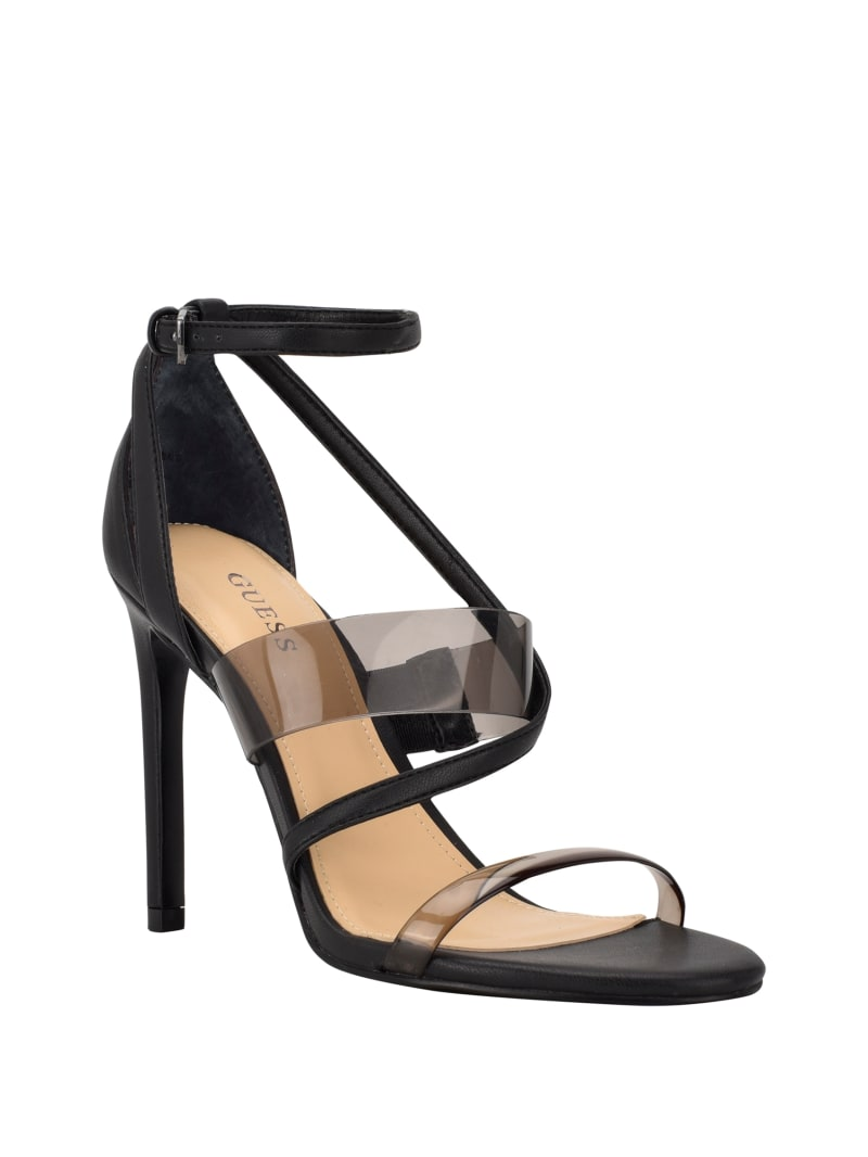 Felecia Transparent Heeled Sandals