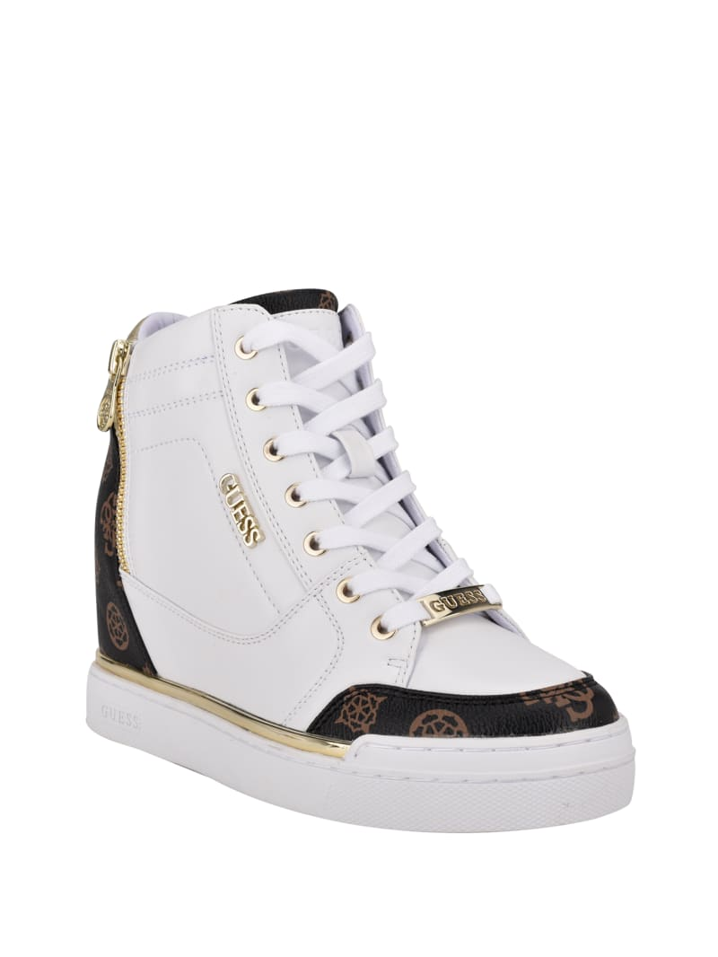 Figz Logo Wedge Sneakers