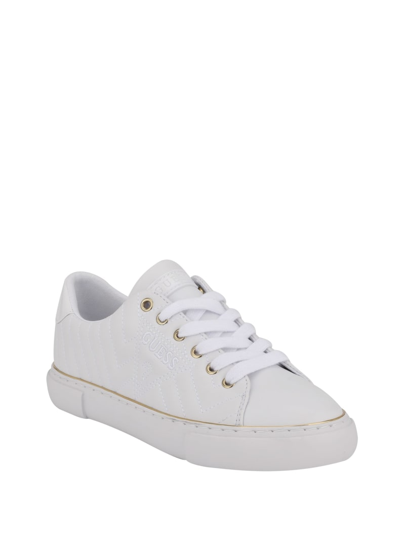 Grasiee Quilted Low-Top Sneakers