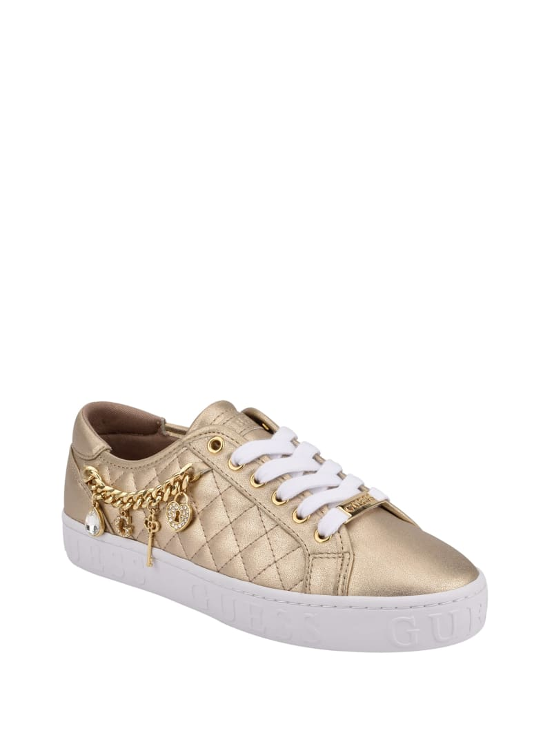 Graslin Quilted Charm Sneakers