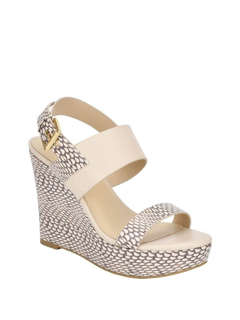 Higali Strap Buckle Wedges