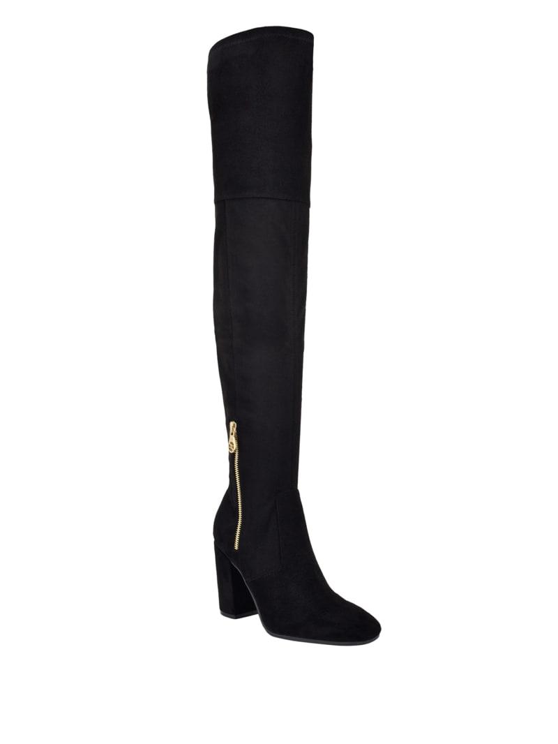 Hiva Block Heel Over-The-Knee Boots