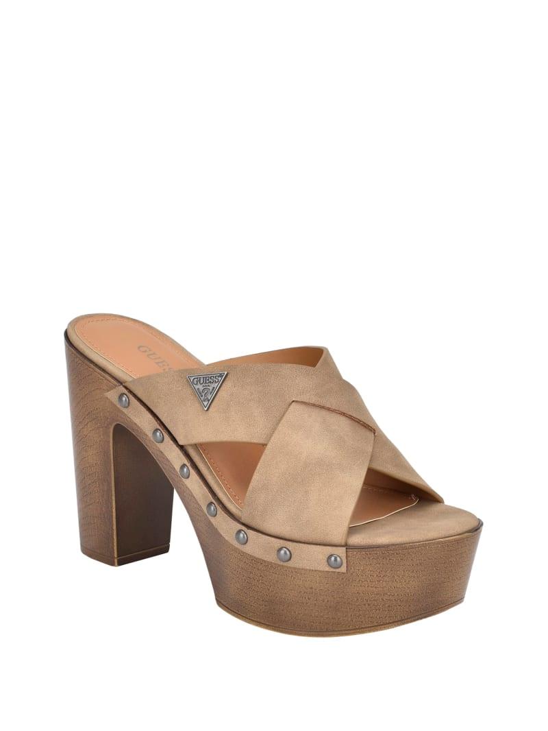 Jobilee Wooden Mule Heels