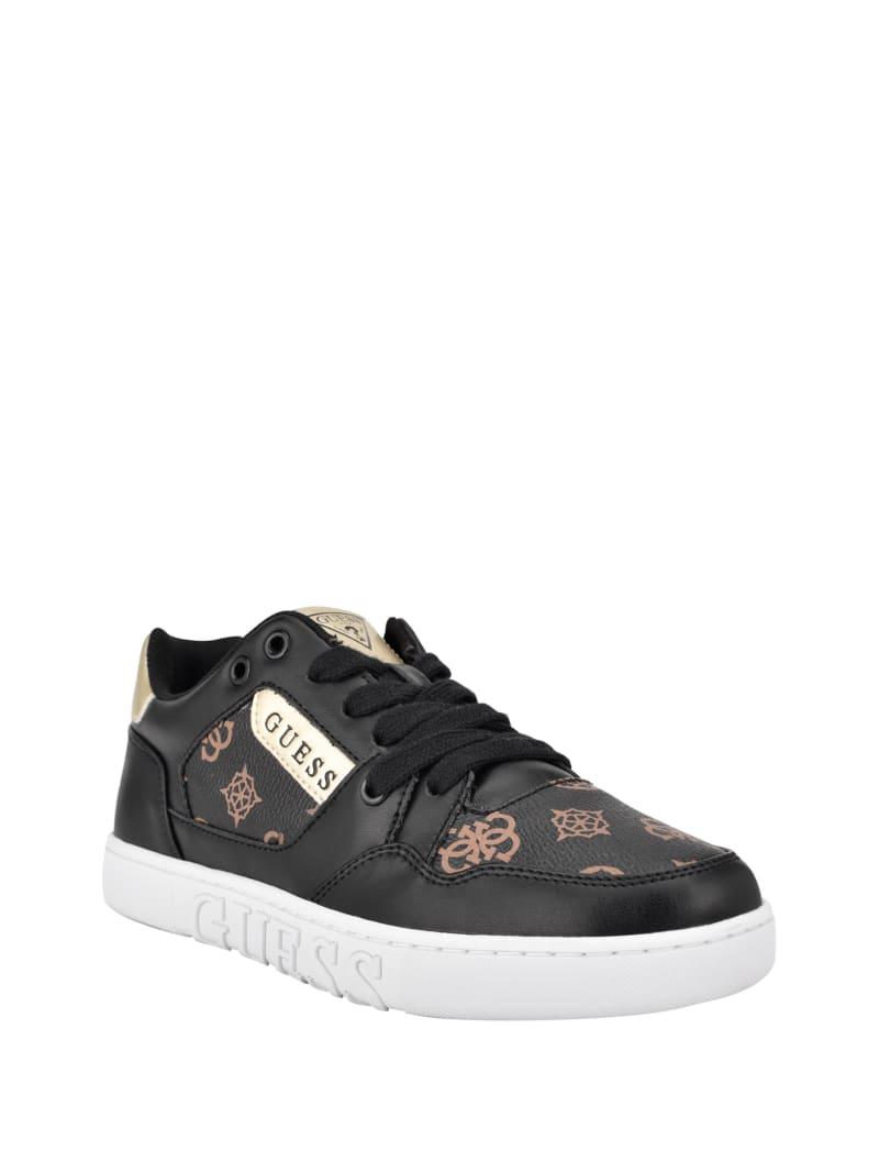 Julien Embossed Low-Top Sneakers
