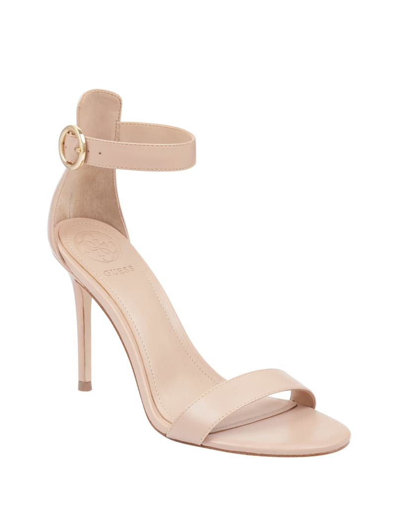 Kahlua Ankle-Strap Heels