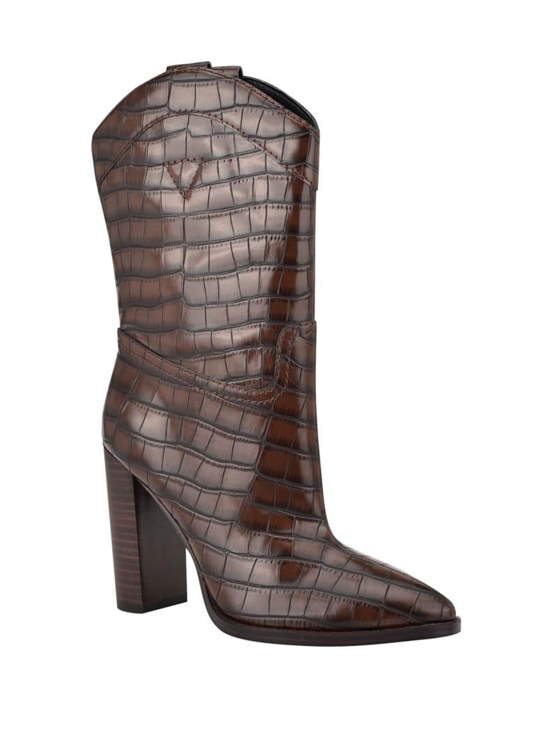 Marney Crocodile Western Booties