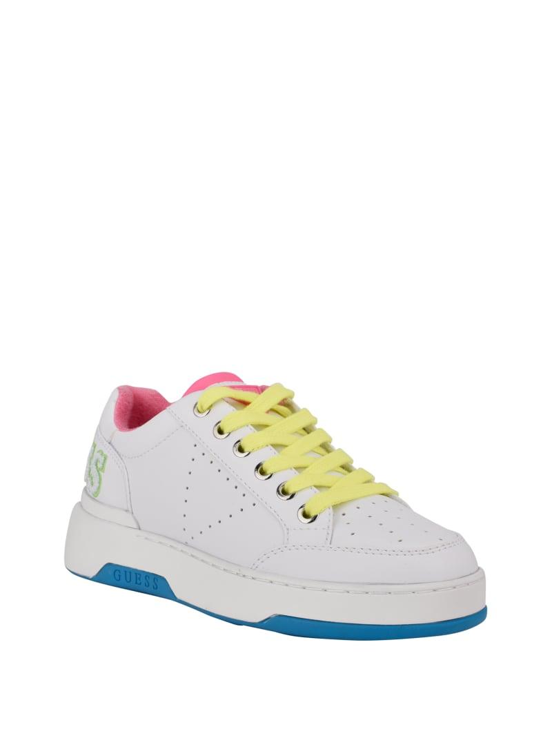 Marvyn Varsity Logo Low-Top Sneakers