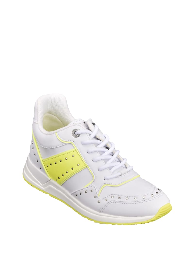 Rejjy Studded Neon Sneakers