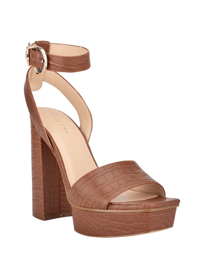 Rippa Croc Platform Sandal