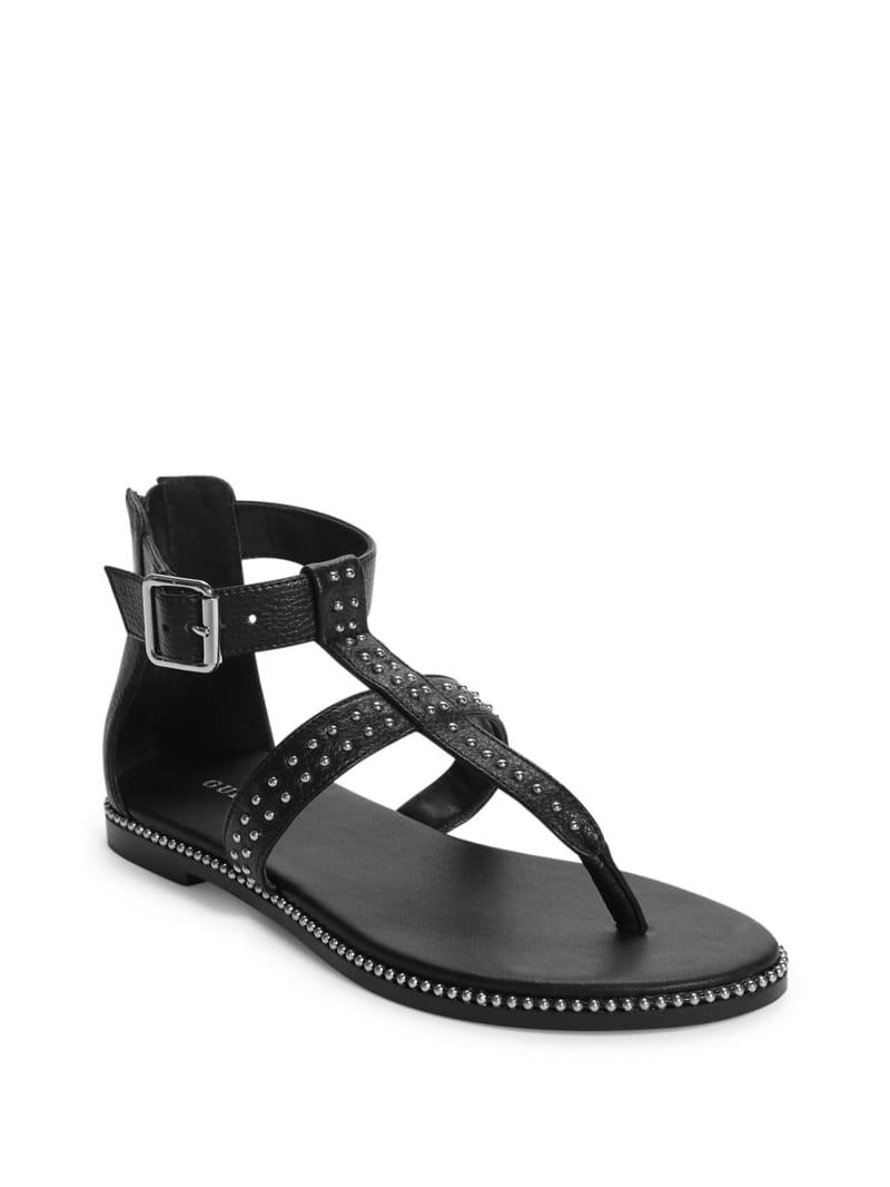 Roeg Edgy Studded Sandals