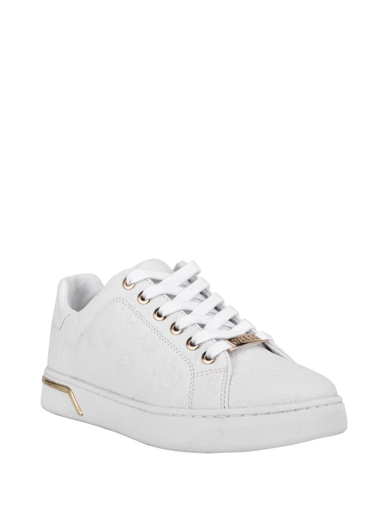 Rollin Debossed Low-Top Sneakers