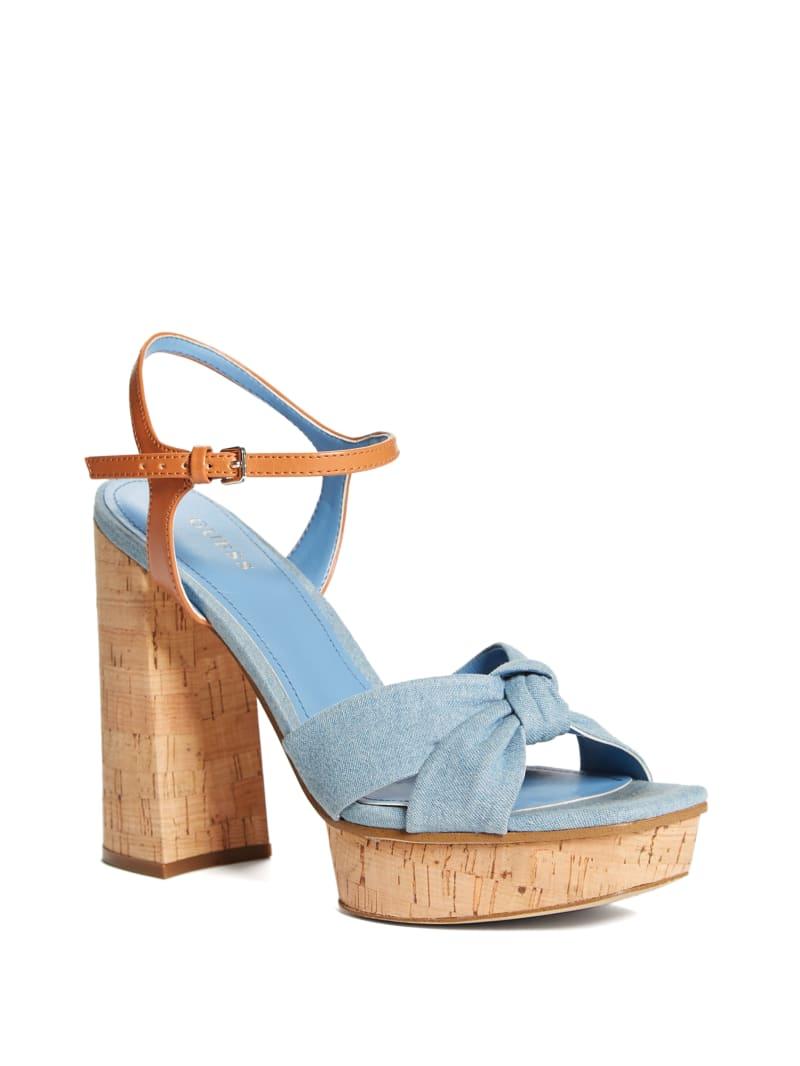 Roslynn Knotted Platform Sandal