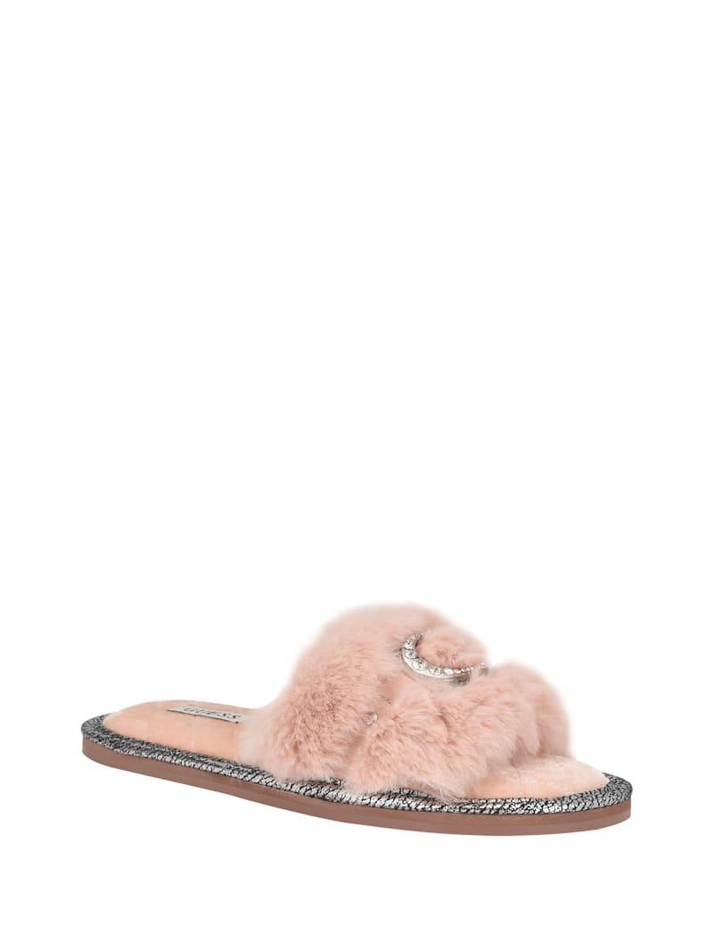 Sannah Faux-Fur Shearling Slides