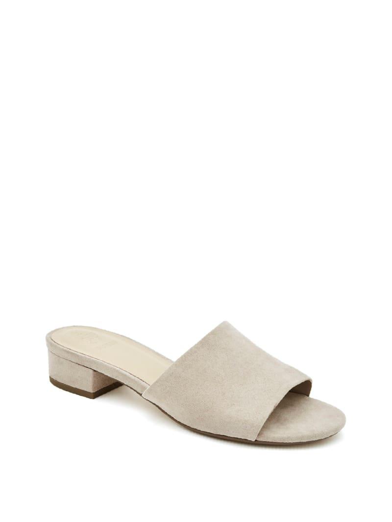 Slider Block-Heel Mules