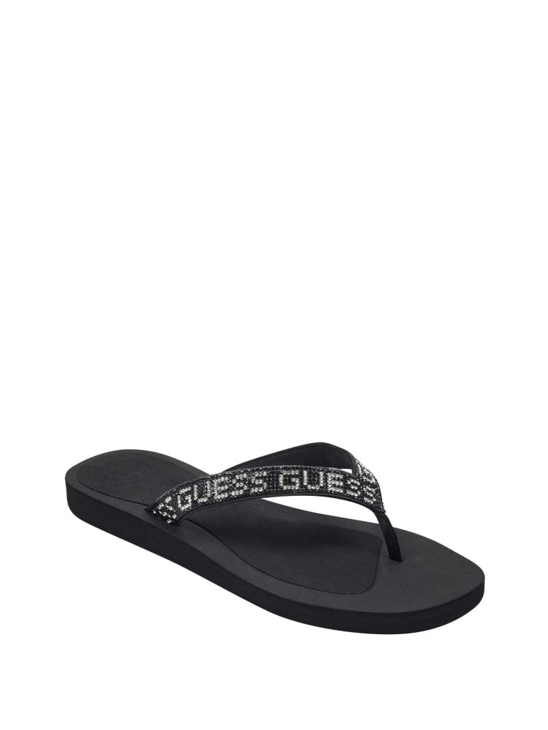 Tajah Rhinestone Flip Flops