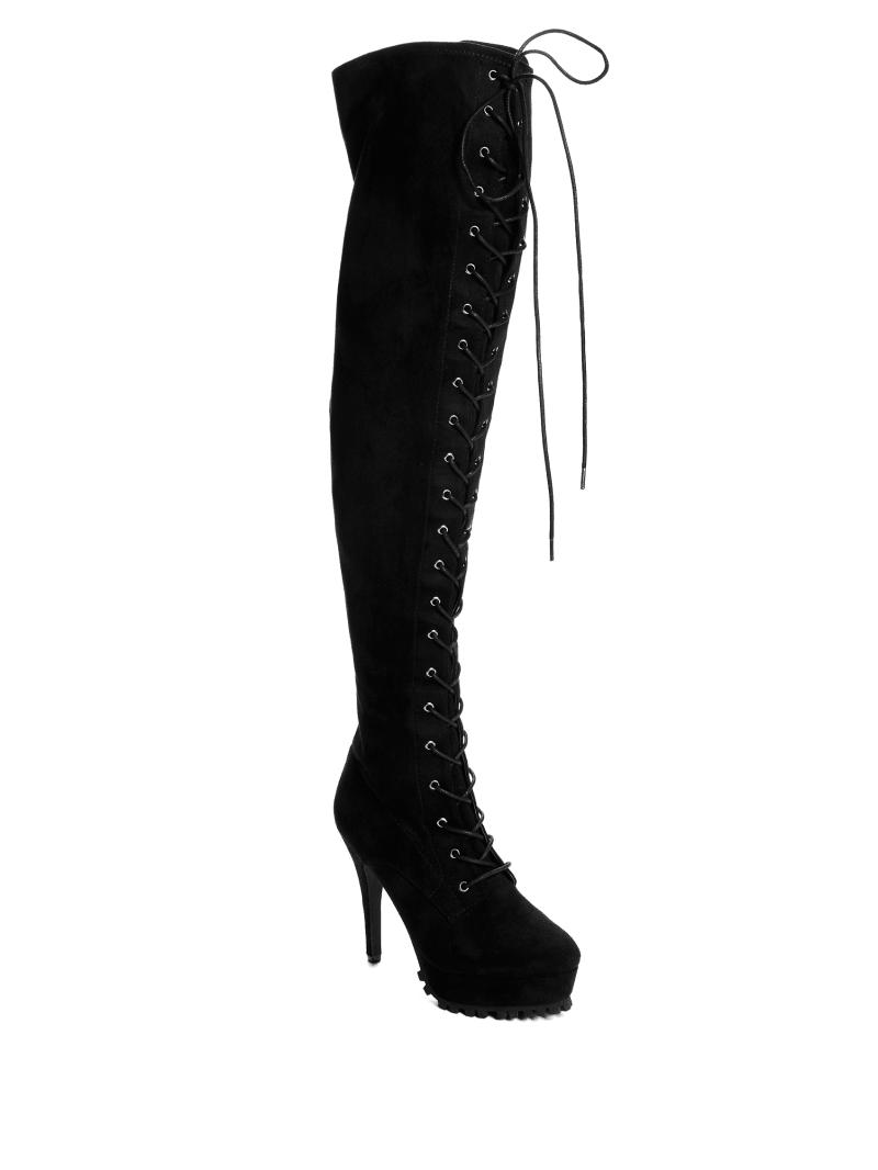 Tallis Over-The-Knee Stiletto Boots