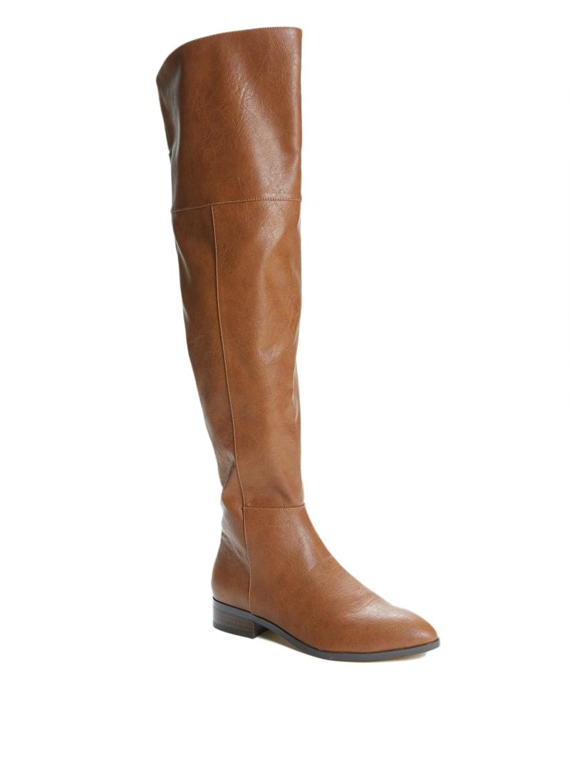 Zeldah Over-The-Knee Flat Boots
