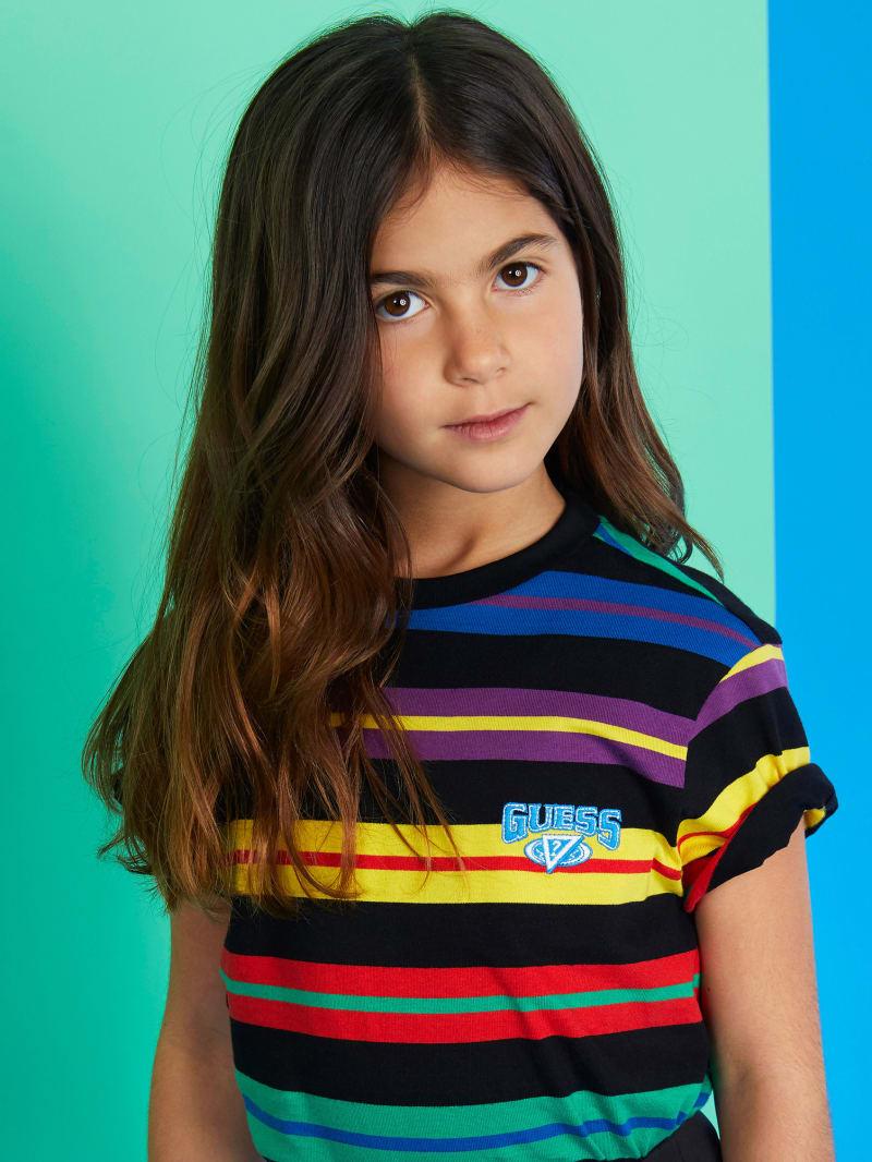 GUESS X J Balvin Kids Horizontal Stripes Tee (4-14)