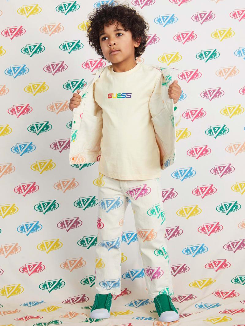 GUESS X J Balvin Kids Smile Logo Tee (4-14)