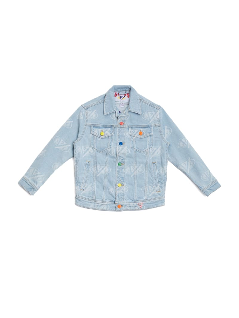 GUESS x J Balvin Kids Denim Jacket (4-14)