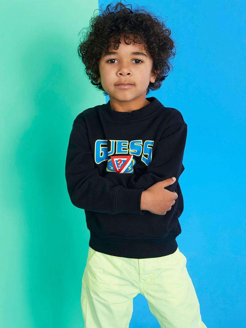 GUESS X J Balvin Kids Logo Pullover (4-14)