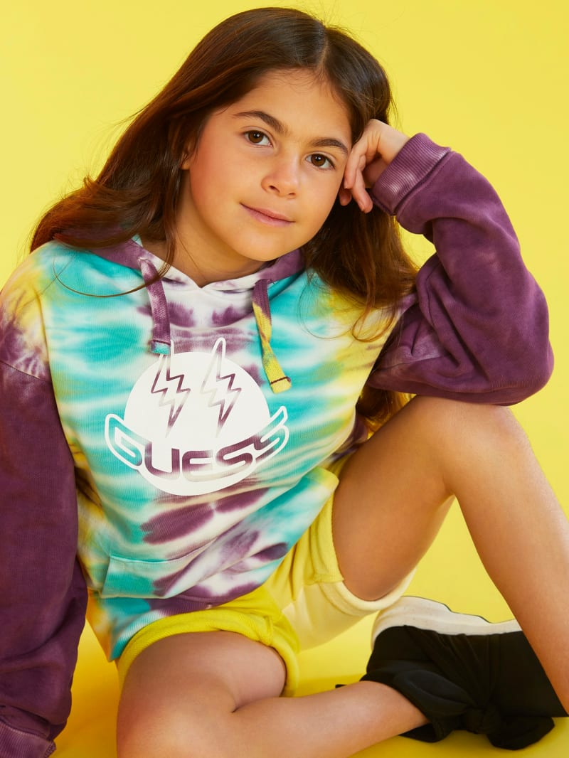 GUESS X J Balvin Kids Tie-Dye Hoodie (4-14)