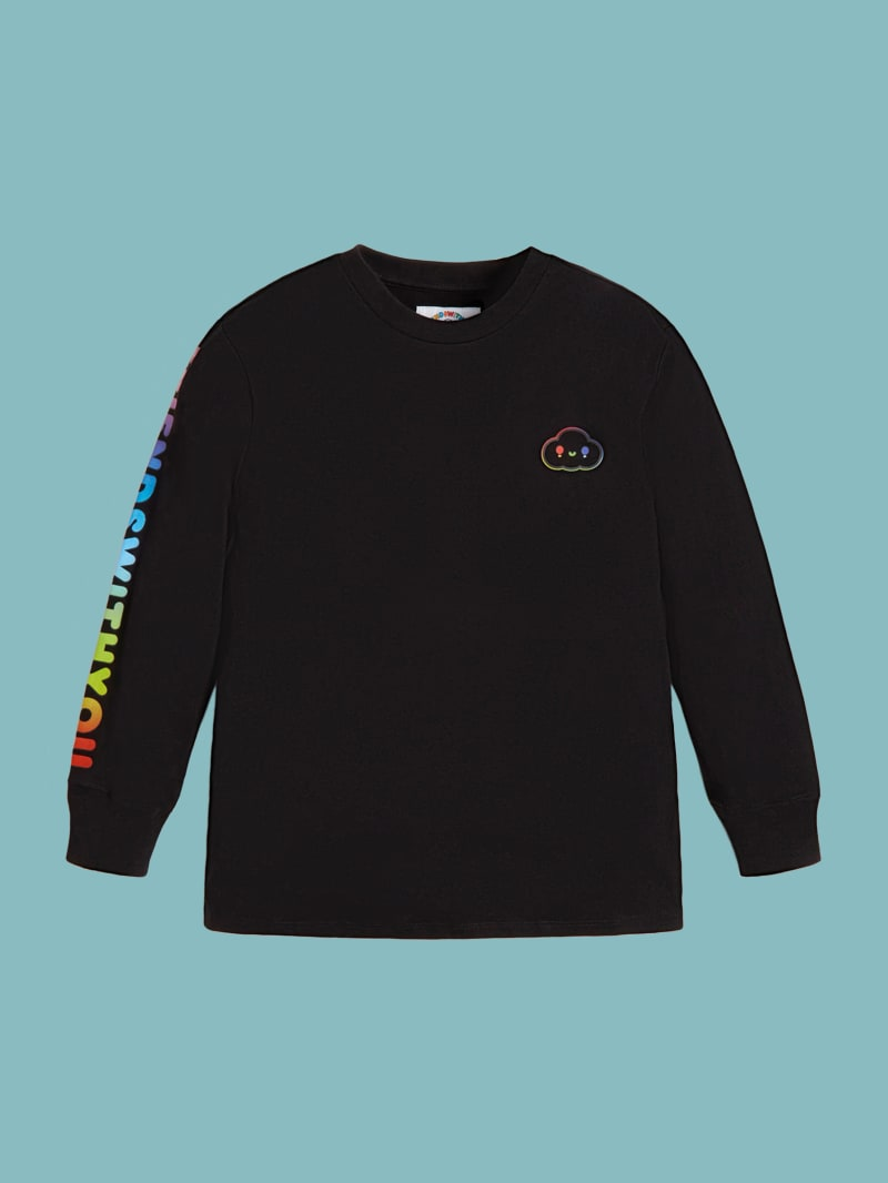 GUESS x FriendsWithYou Unisex Long-Sleeve Tee
