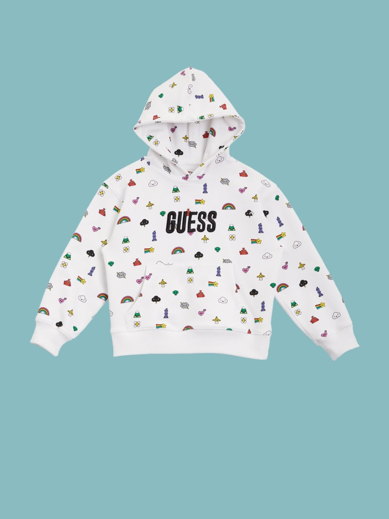 GUESS x FriendsWithYou Hoodie (4-14)
