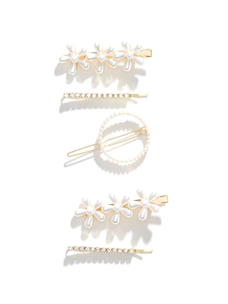 Pearl Flower Hair Piece Set