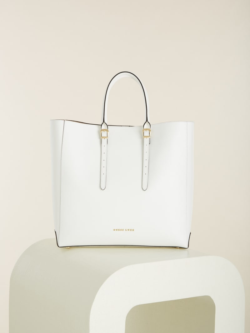 Lady Luxe Leather Tote