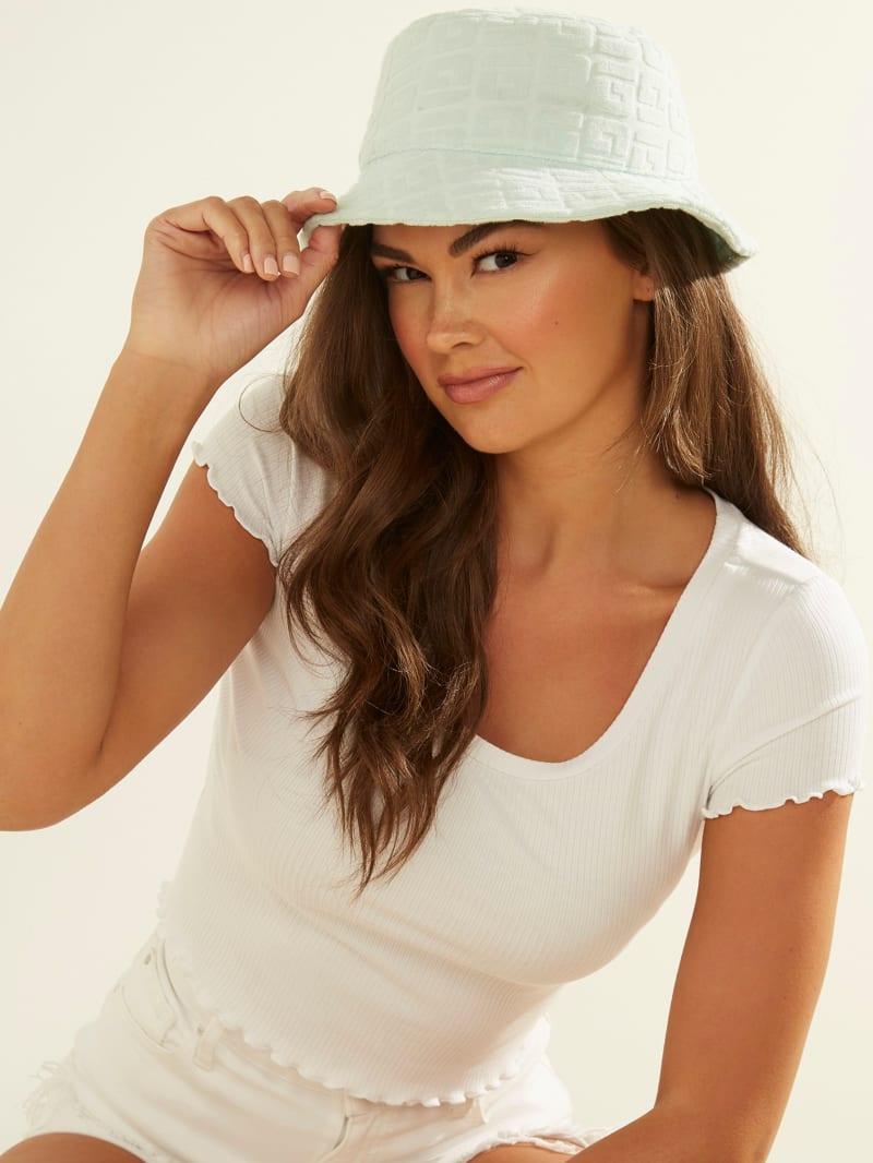 Embossed Logo Bucket Hat