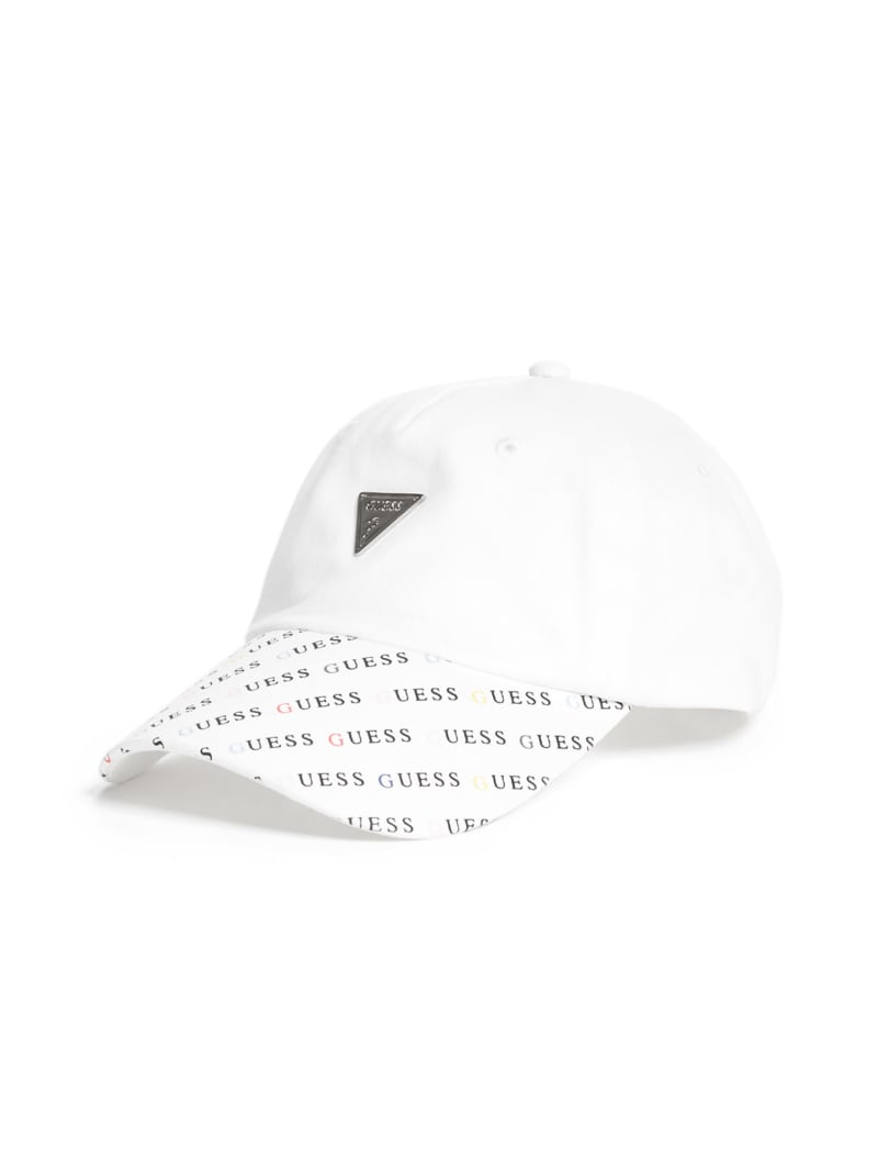 Metal Logo Baseball Hat