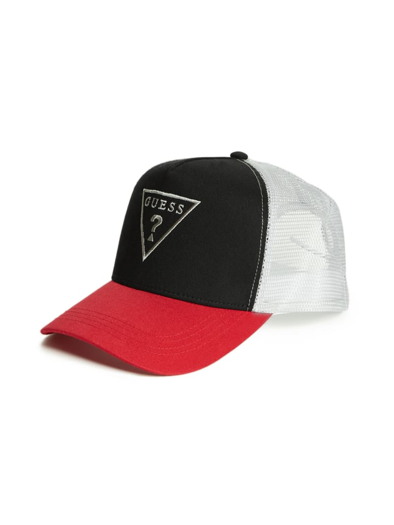 Color-Block Logo Trucker Hat