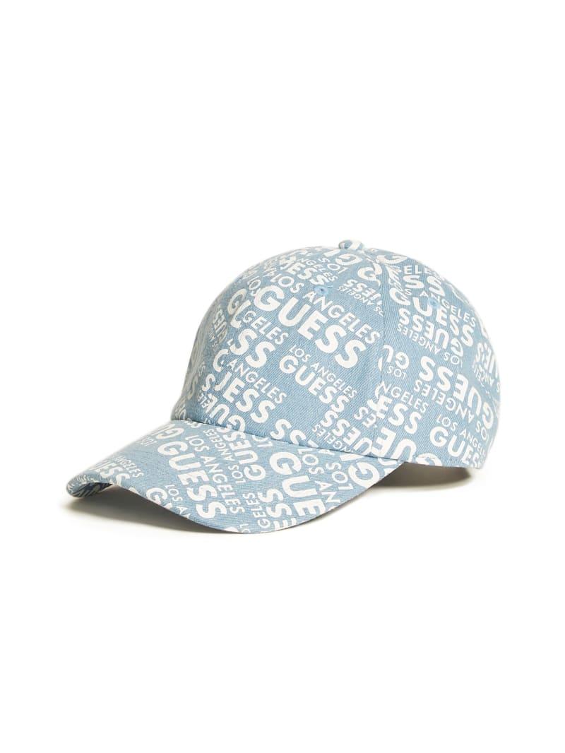 Denim Logo Baseball Hat