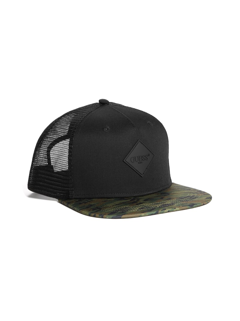 Camo Logo Trucker Hat