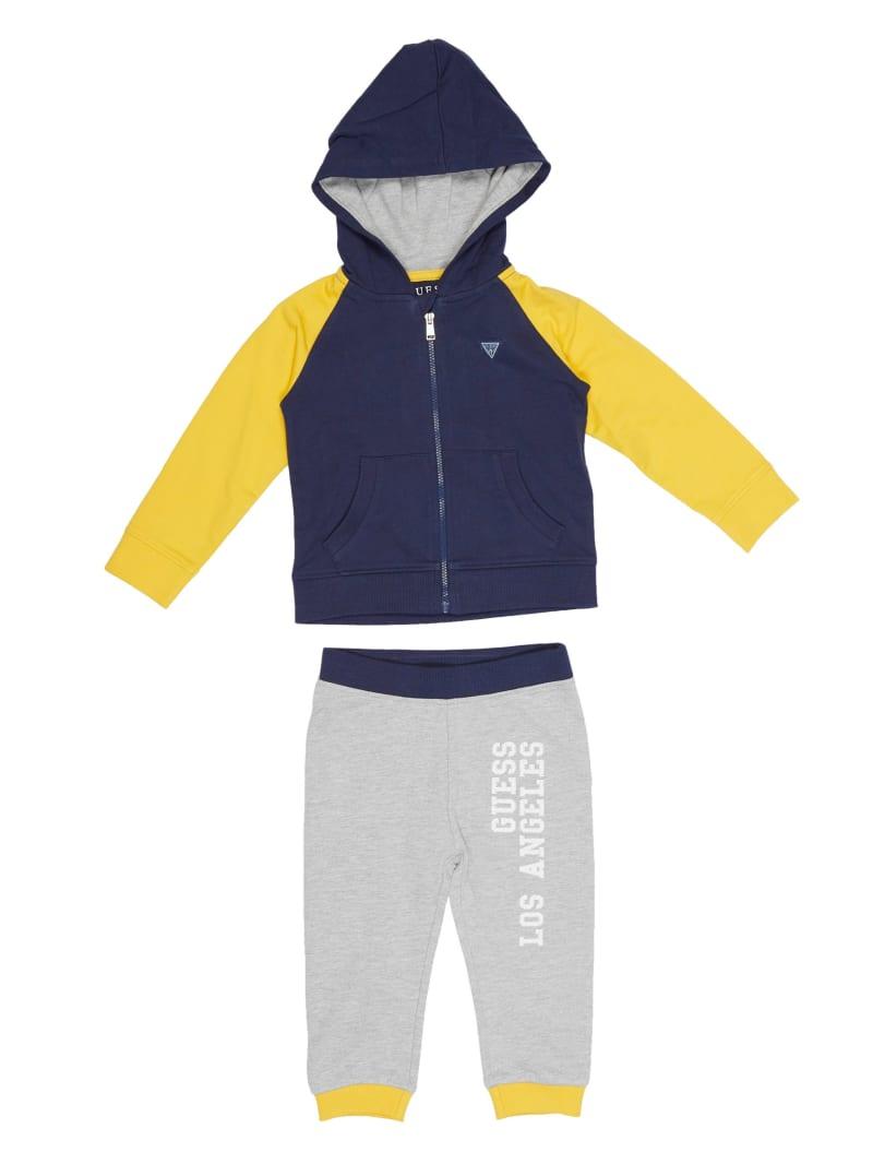Active Zip-Up Hoodie And Pants Set (0-24M)