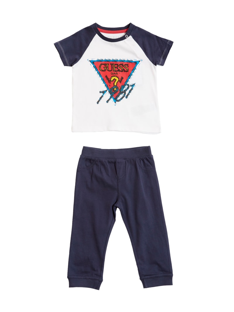 Logo Tee and Denim Jeans Set (0-24M)