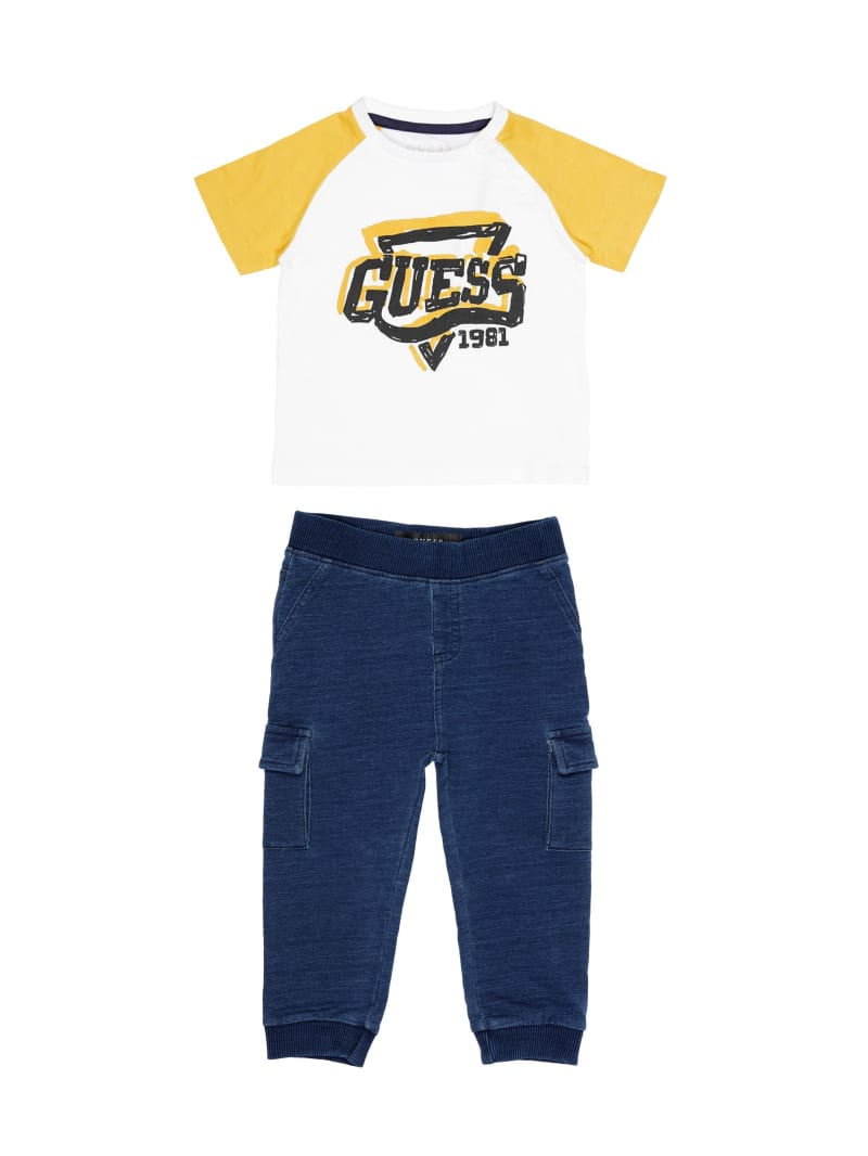 Logo Tee And Pants Set (0-24M)