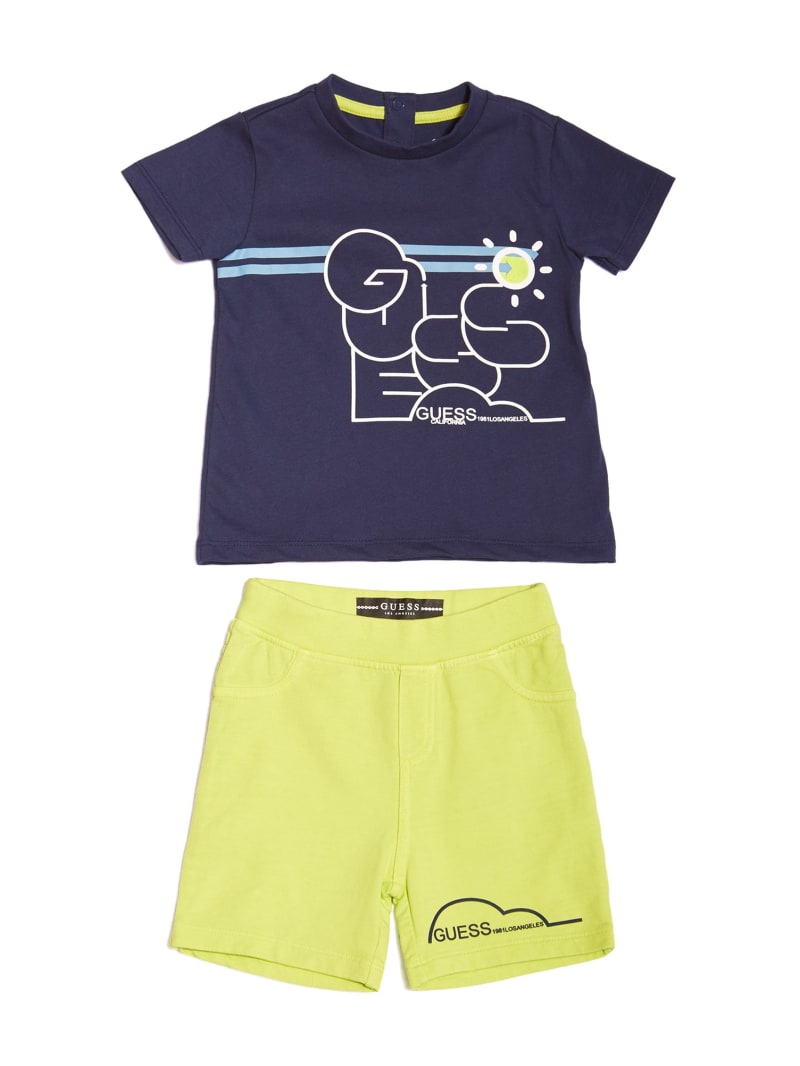 Graphic Tee and Shorts Set (0-24M)